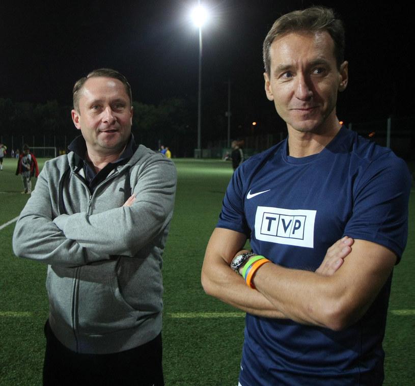 Kamil Durczok i Piotr Kraśko /Reporter