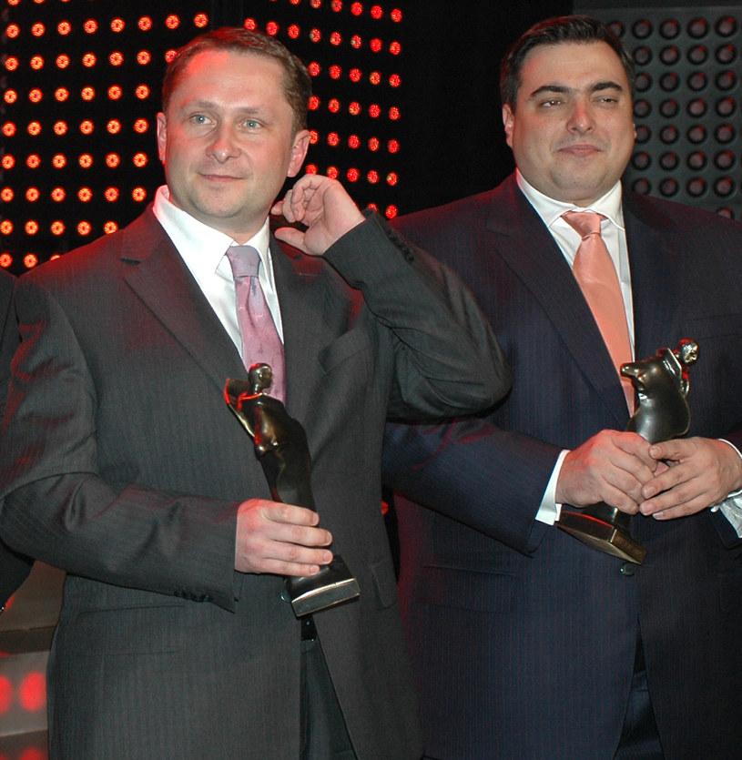Kamil Durczok i Tomasz Sekielski, zdjęcie archiwalne /Andras Szilagyi /MWMedia