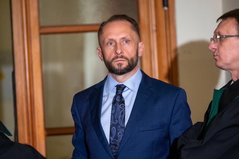 Kamil Durczok w sądzie okręgowym w Katowicach /Kasia Zaremba /East News