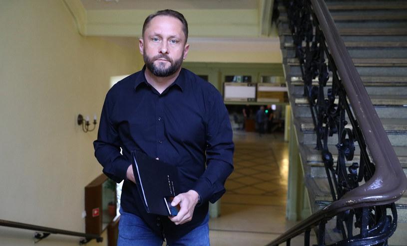 Kamil Durczok w sądzie w sierpniu 2019 r. /DARIUSZ SMIGIELSKI/DZIENNIK LODZKI /East News