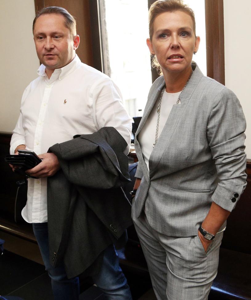 Kamil Durczok z byłą żoną, Marianną Dufek /Mariusz Grzelak /Reporter
