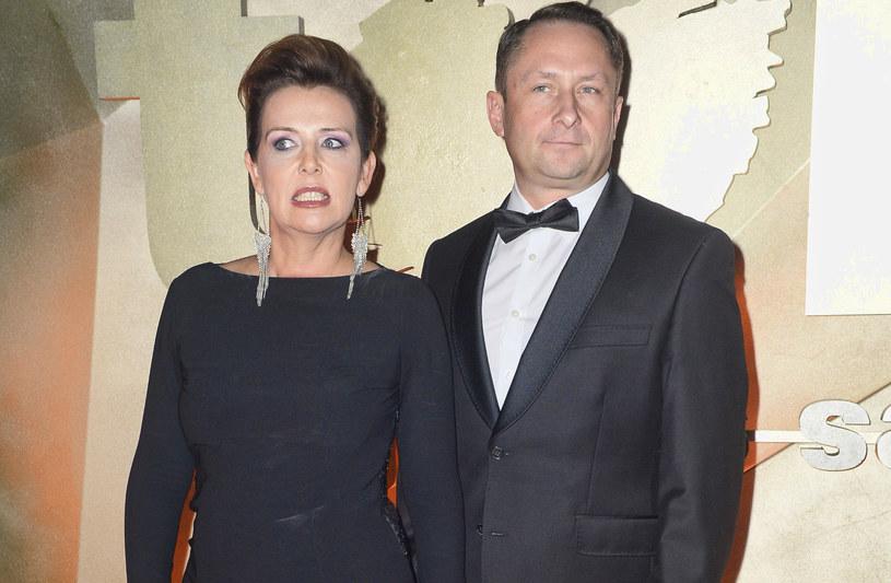 Kamil Durczok z byłą żoną, Marianną /MWMedia
