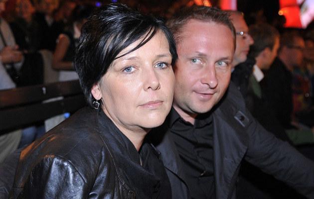 Kamil Durczok z żoną, fot.Kurnikowski  /AKPA