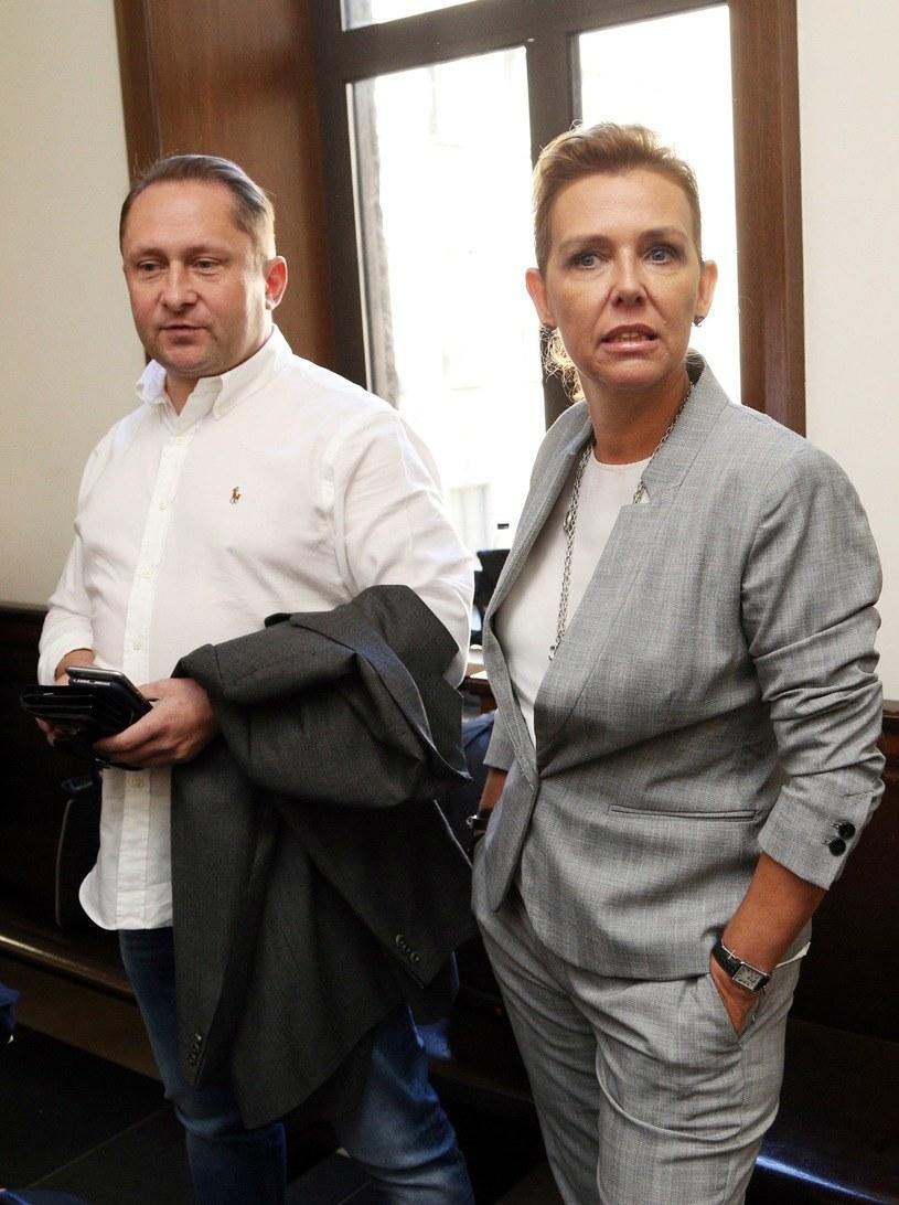 Kamil Durczok z żoną Marianną /East News
