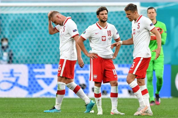Kamil Glik, Bartosz Bereszyński, Jan Bednarek i Wojciech Szczęsny /Adam Warżawa /PAP