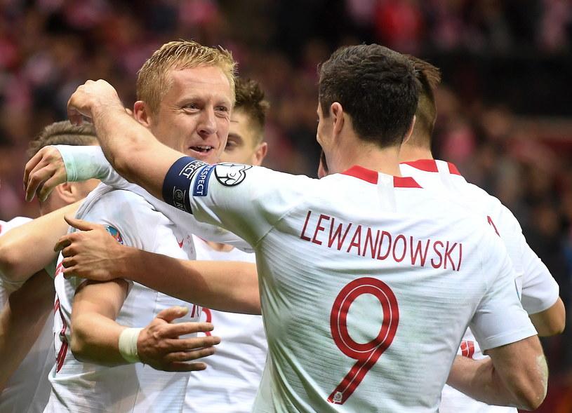 Kamil Glik ma powody do zadowolenia /Piotr Nowak /PAP