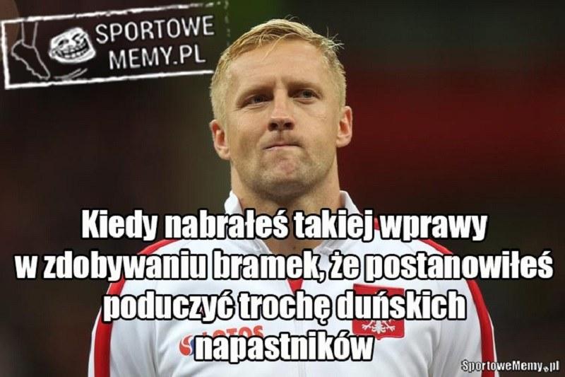 Kamil Glik nie może przestać strzelać! /Sportowememy.pl /Internet