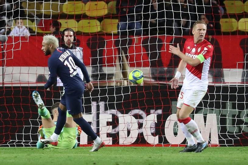 Kamil Glik nie zatrzymał ataku PSG /AFP