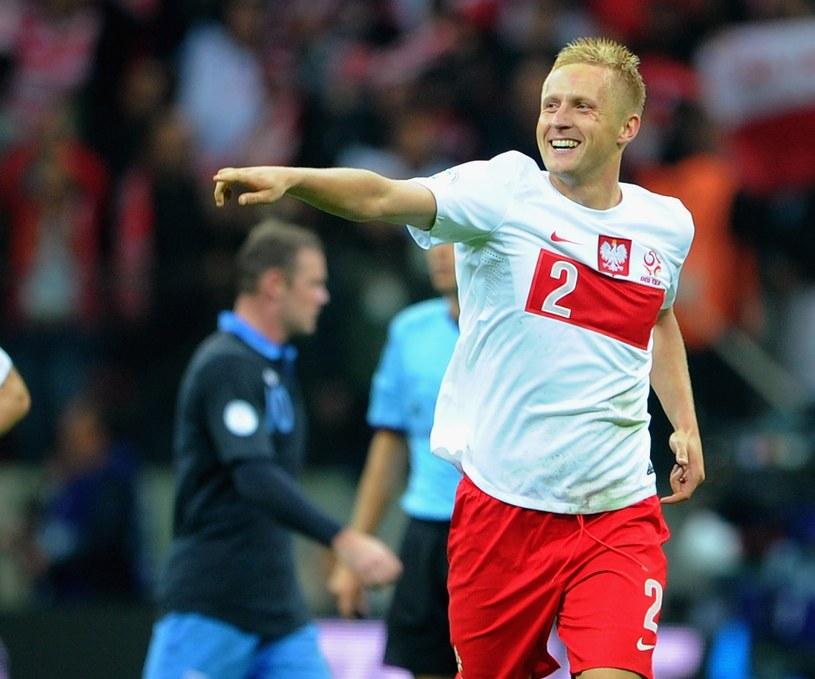 Kamil Glik, strzelec gola z Anglią /Michael Regan /Getty Images