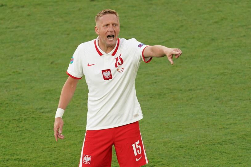 Kamil Glik w meczu Polska-Hiszpania /Newspix /Newspix