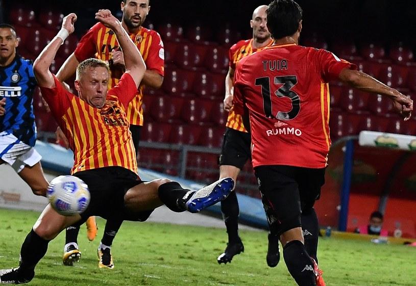 Kamil Glik w meczu z Interem /AFP