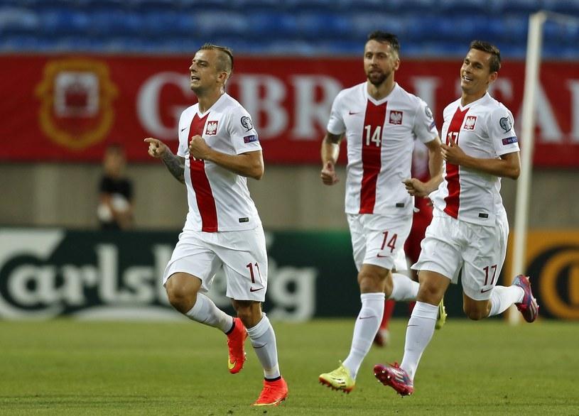 Kamil Grosicki, piłkarz reprezentacji Polski /AFP