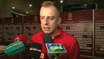 Kamil Grosicki po porażce z Czechami. Wideo