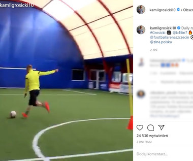 Kamil Grosicki pochwalił się swoim treningiem. Wideo
