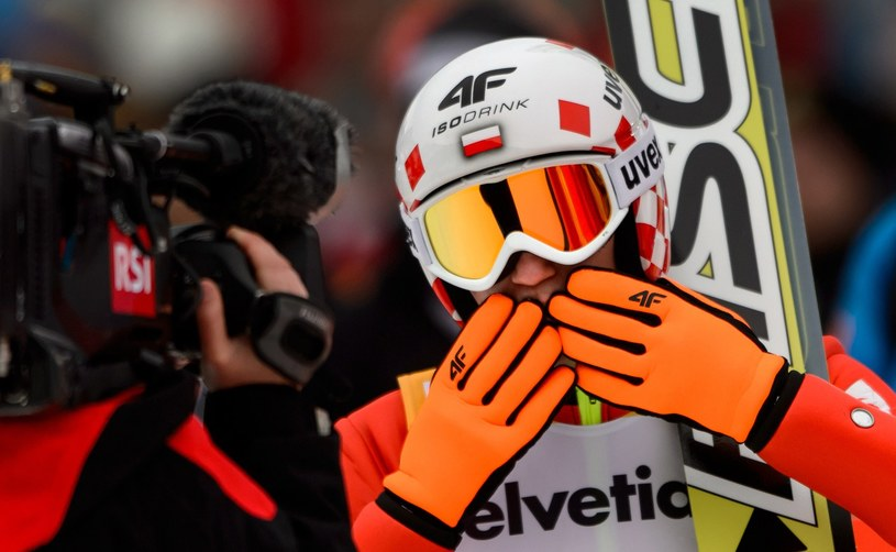Kamil Stoch - jeden z faworytów Turnieju Czterech Skoczni /AFP