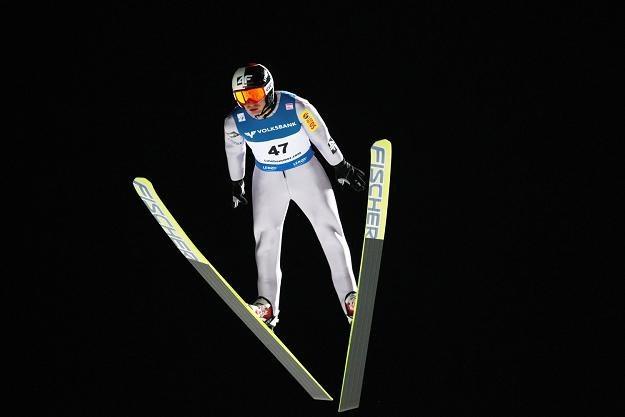 Kamil Stoch jest najwyżej notowanym Polakiem w klasyfikacji generalnej /AFP