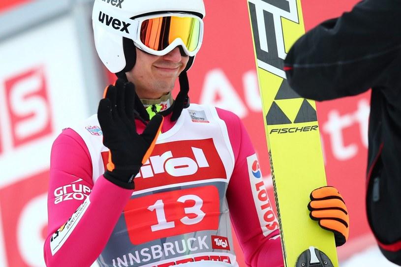 Kamil Stoch może być zadowolony z występu w Innsbrucku /PAP/EPA