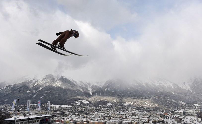Kamil Stoch na skoczni Bergisel w Innsbrucku /AFP