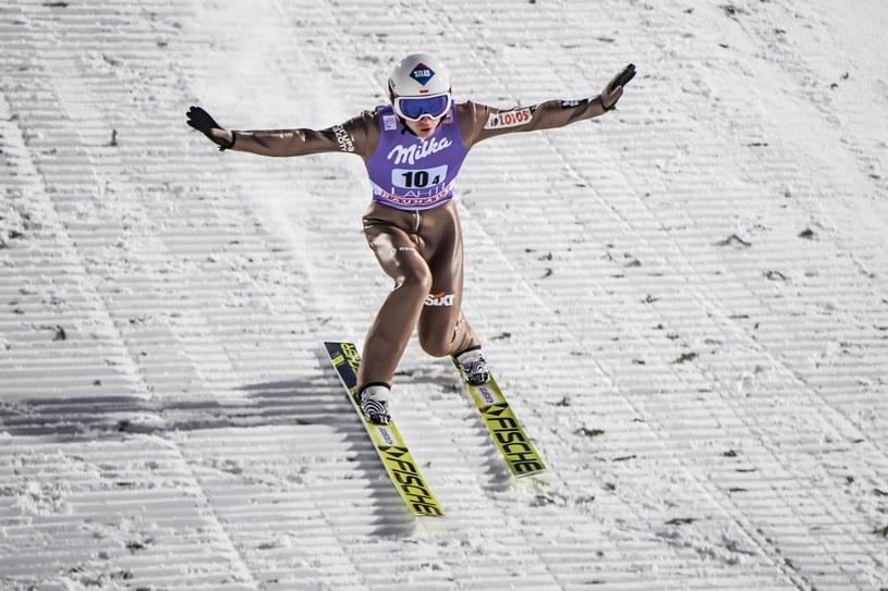 Kamil Stoch na skoczni w Lahti /PAP/EPA