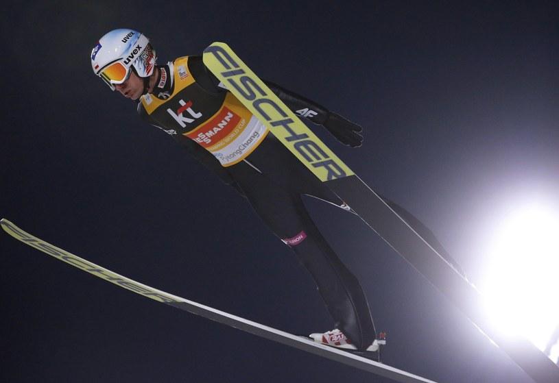 Kamil Stoch na skoczni w Pjongczangu /PAP/EPA