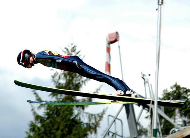 Kamil Stoch na zawodach w Szczyrku 20.07.2011_fot. Łukasz Kalinowski /East News