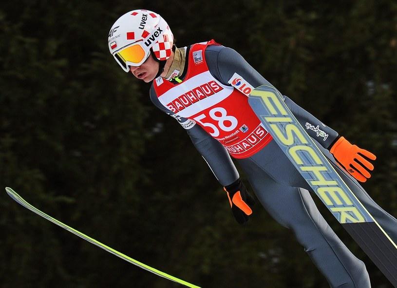 Kamil Stoch nie skakał w kwalifikacjach /PAP/EPA