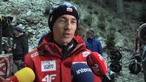 Kamil Stoch po czwartym miejscu w Wiśle. Wideo