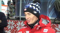 Kamil Stoch po kwalifikacjach w Wiśle. Wideo