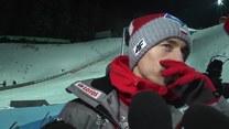 Kamil Stoch po zwycięstwie w drugim konkursie w Wiśle