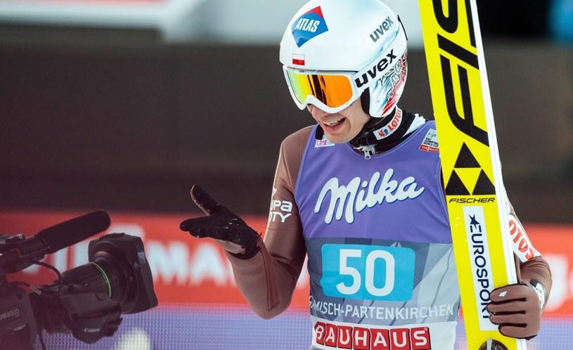 Kamil Stoch podczas Turnieju Czterech Skoczni /PAP/EPA
