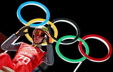 Kamil Stoch skoczył najdalej na pierwszym treningu w Soczi