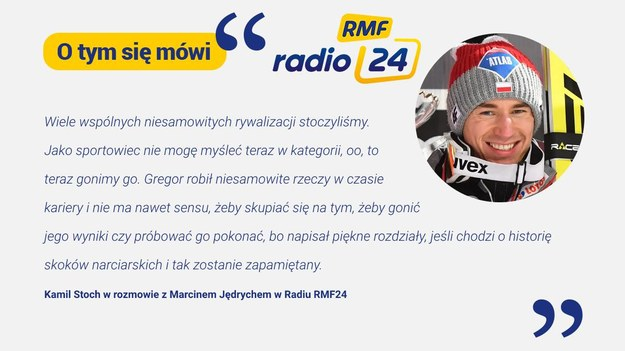 Kamel Stoch comments on RMF24 Radio on Gregor Schlierenzauer's decision to end his career / RMF24