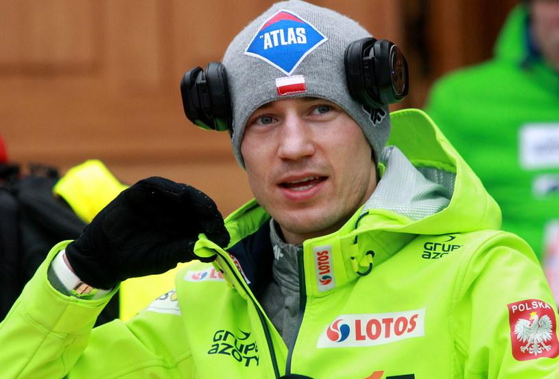 Kamil Stoch świetnie spisał się w kwalifikacjach w Wiśle. Jak będzie w konkursie? /fot. Grzegorz Momot /PAP