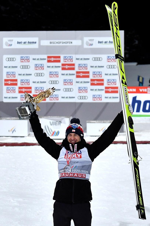 Kamil Stoch - triumfator 69. Turnieju Czterech Skoczni /PAP