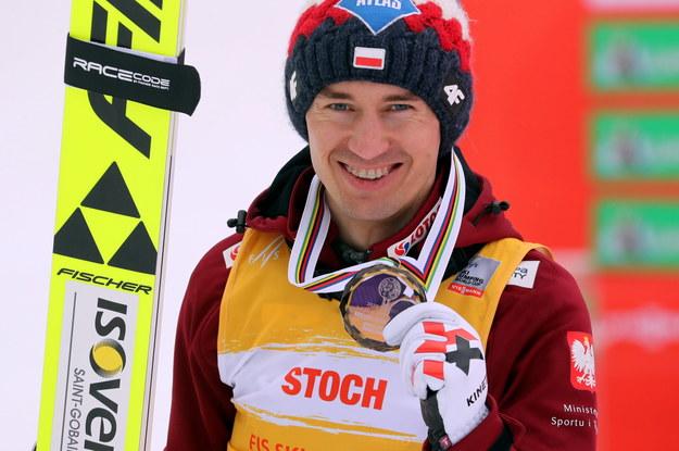 Kamil Stoch, trzeci zawodnik klasyfikacji generalnej Pucharu Świata w sezonie 2020/21 /Grzegorz Momot /PAP