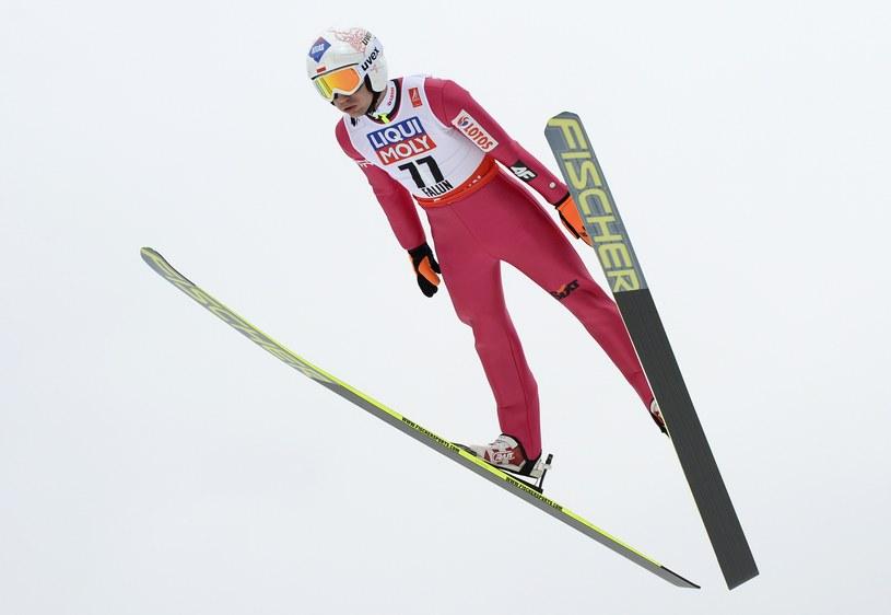 Kamil Stoch w Falun /AFP
