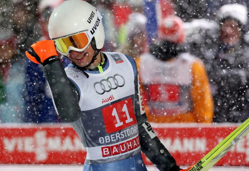 Kamil Stoch w Oberstdorfie /AFP