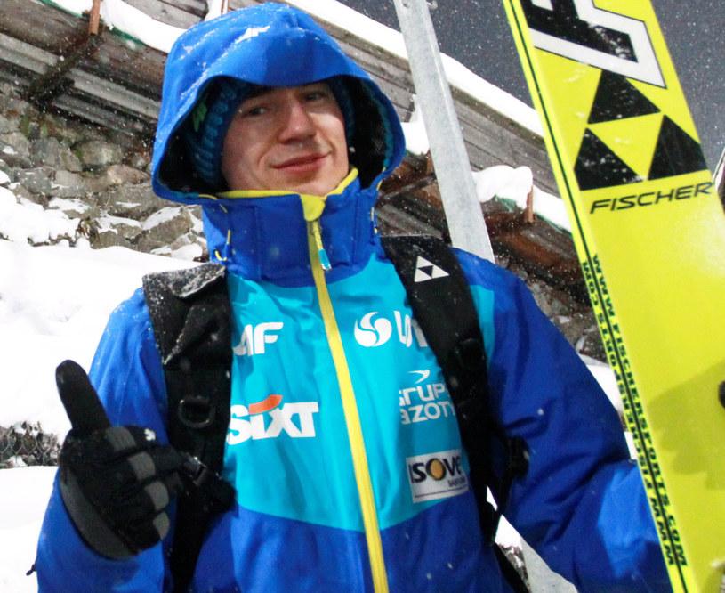 Kamil Stoch w Oberstdorfie /Grzegorz Momot /PAP