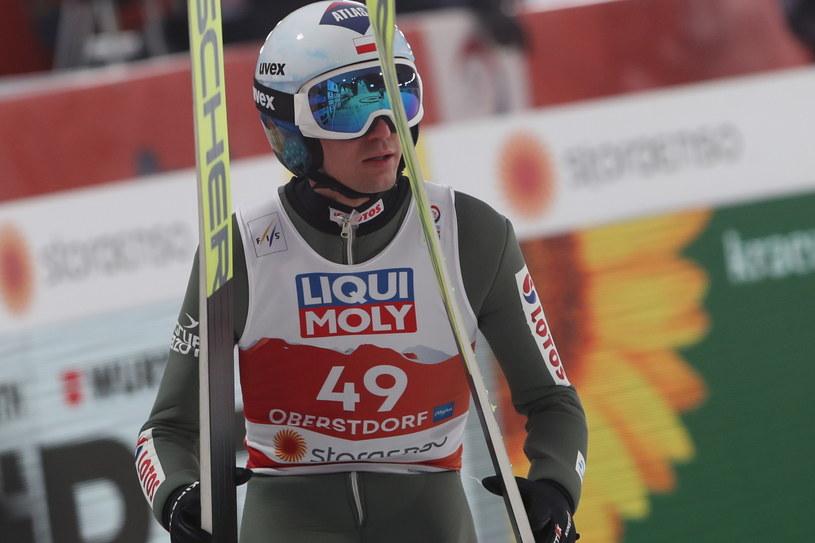 Kamil Stoch w Oberstdorfie / Grzegorz Momot    /PAP
