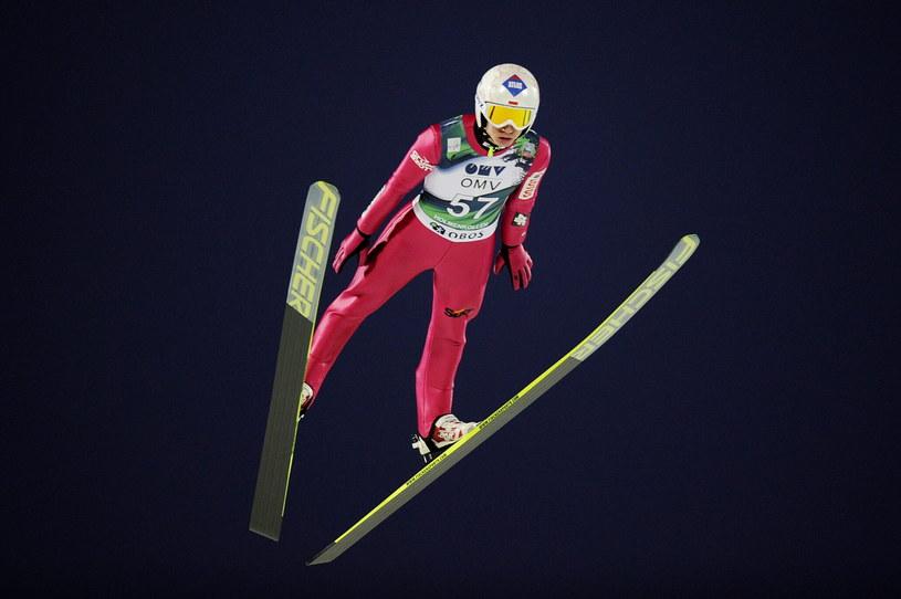 Kamil Stoch w Oslo /PAP/EPA