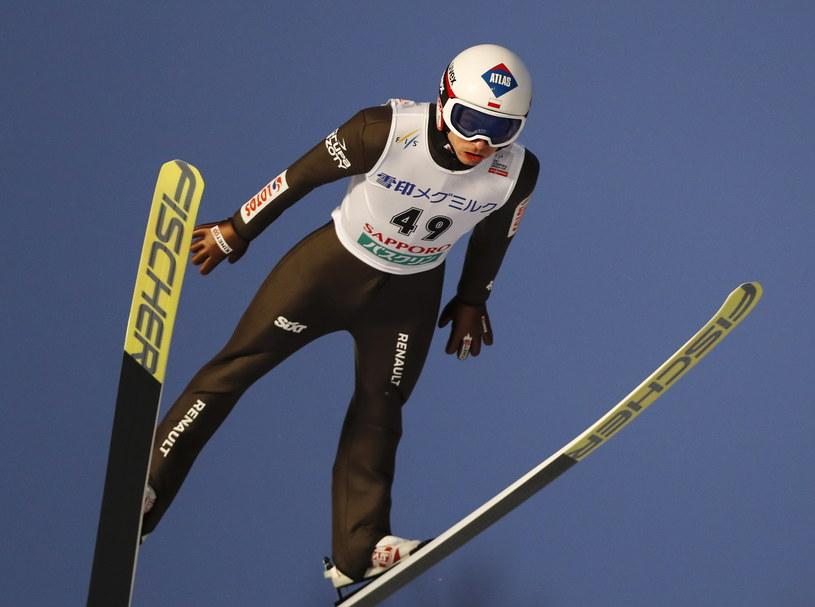 Kamil Stoch w Sapporo /AFP