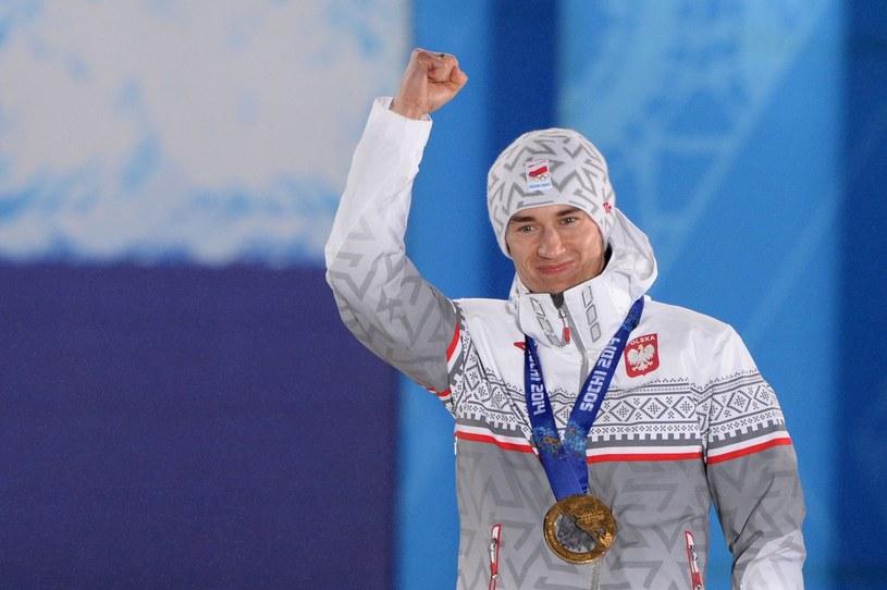 Kamil Stoch w Soczi pokazał moc /AFP