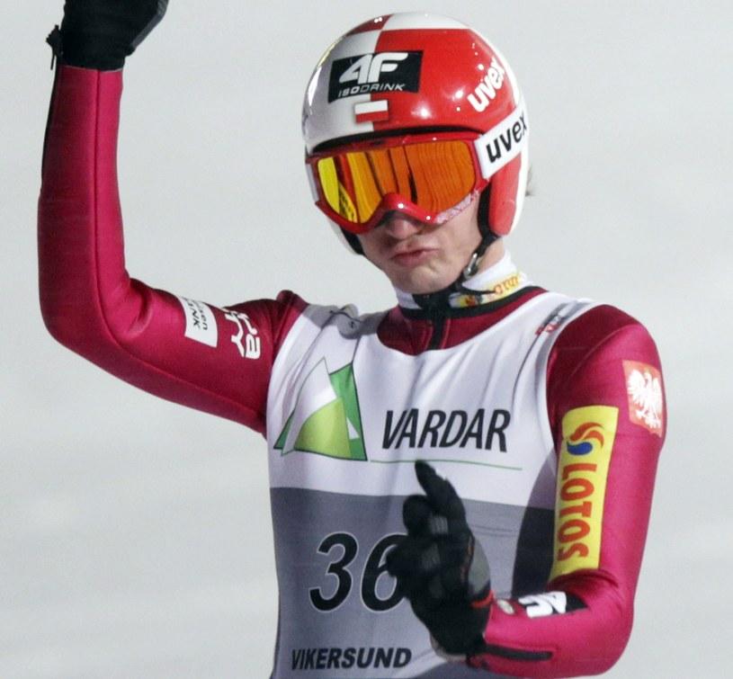 Kamil Stoch w Vikersund /AFP