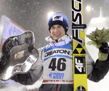 Kamil Stoch wygrał konkurs skoków w Kuopio