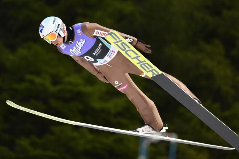 Kamil Stoch zajął 5. miejsce w Trondheim /AFP
