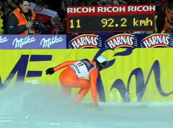 Kamil Stoch zajął w sobotę 15. miejsce /INTERIA.PL