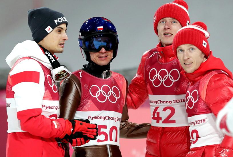 Kamil Stoch zdobył indywidualnie trzecie złoto olimpijskie w karierze / Grzegorz Momot    /PAP