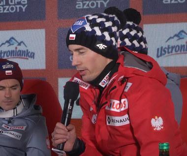 Kamil Stoch zdziwiony notami sędziowskimi. Wideo