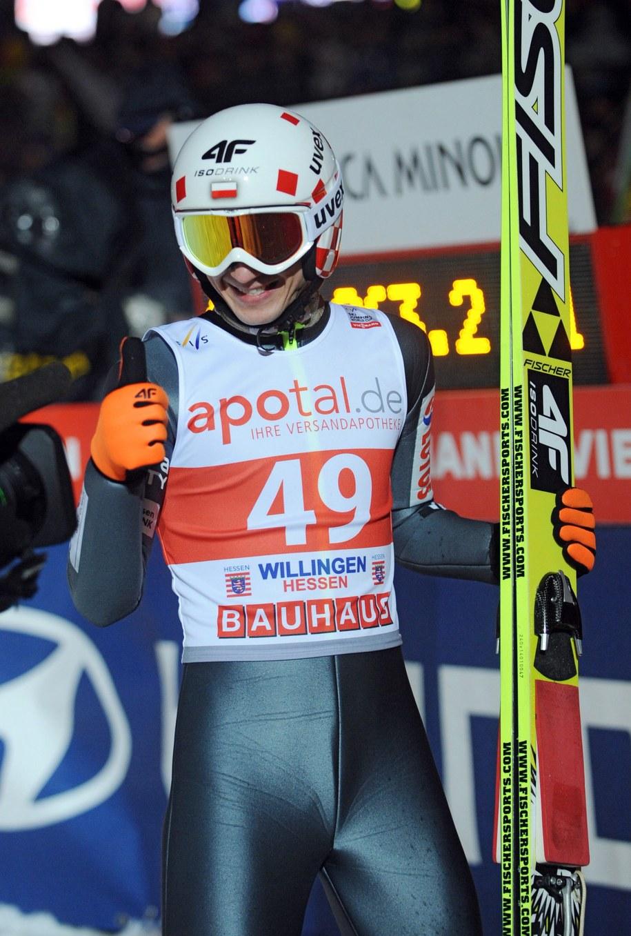Kamil Stoch /UWE ZUCCHI  /PAP/EPA