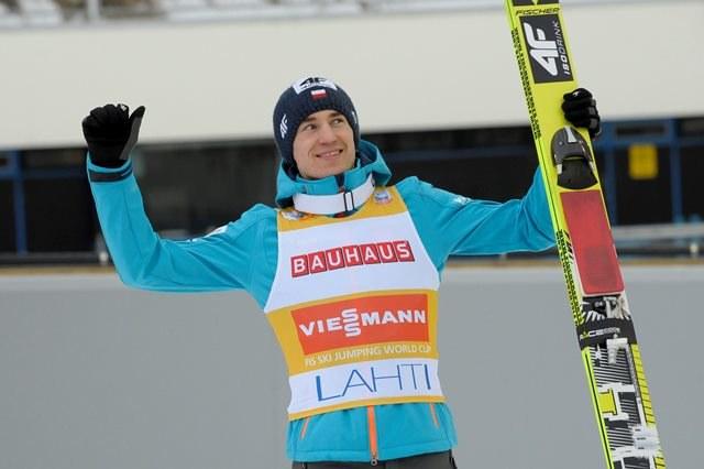 Kamil Stoch /Markku Ojala /PAP/EPA